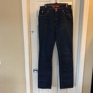 "Guess Jeans 36"" Inseam Dark Denim Straight Leg"